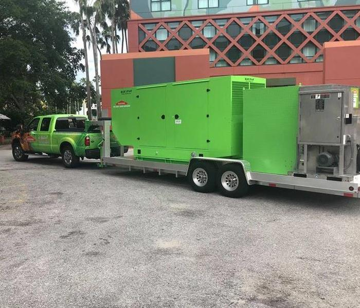 SERVPRO of Bath equipment