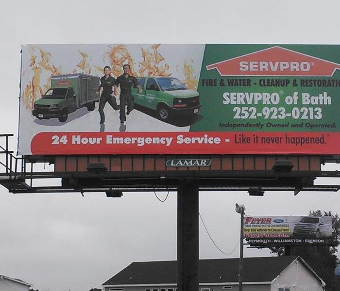 Our new billboard