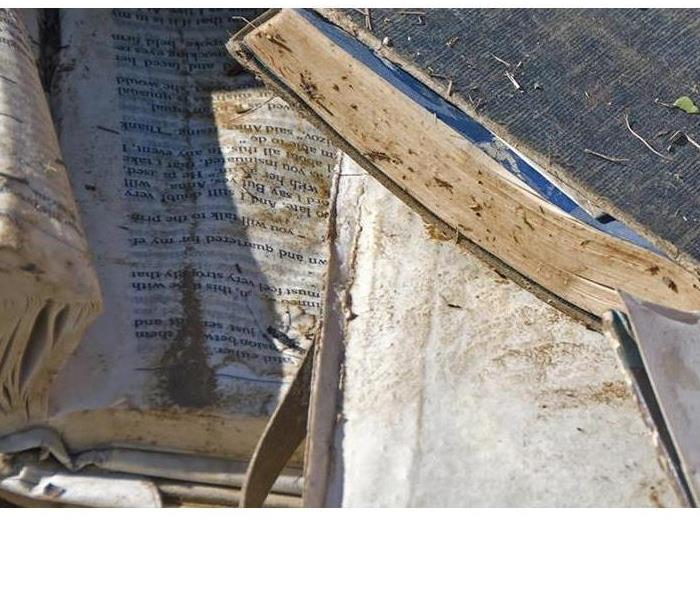 Cleaning Devastated over your water damaged Family Bible or important papers?