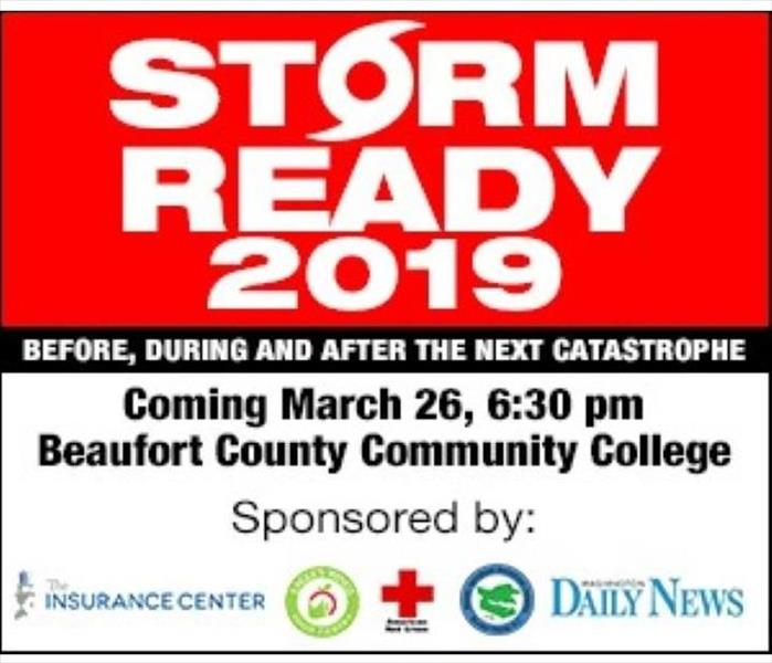 Storm Damage STORM READY 2019